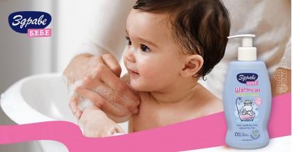 Здраве Бебе бебешки Шампоан с Алое Вера 400 ml