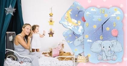 Малък Пакостник Тематичен Стенен Часовник Baby room