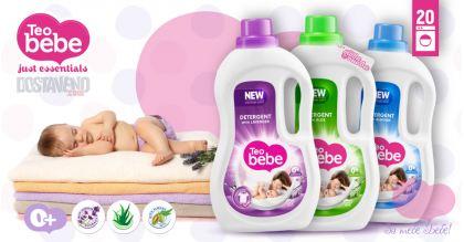 Teo bebe Хипоалергенни Течни Перилни препарати 1.1 Liter