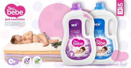 Teo bebe Хипоалергенни Течни Перилни препарати 2.2 Liter