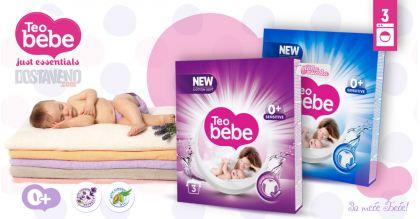 Teo bebe Хипоалергенен Прах за пране Лавандула и Бадем 225 g