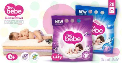 Teo bebe Хипоалергенен Прах за пране Лавандула и Алое 3 kg