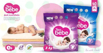 Teo bebe Хипоалергенен Прах за пране Лавандула и Бадем 3 kg