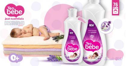 Teo bebe Омекотител за бебешки дрешки Лавандула 1.9 liter