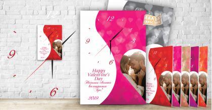 Малък Пакостник Тематичен Стенен Часовник Valentine's Day