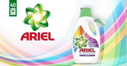 Ariel Color 40 Течен препарат за цветни дрехи 2200 ml