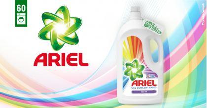 Ariel Color 60  Течен препарат за цветни дрехи 3300 ml