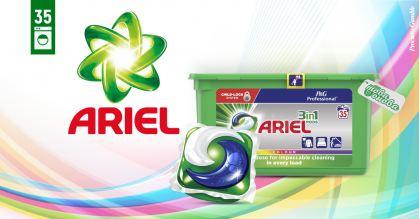 Ariel 3in1 PODS Color Капсули за пералня 35 бр