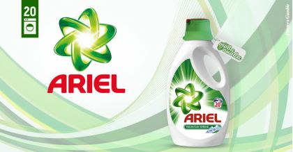 Ariel Mountain Spring 20 Течен препарат 1100 ml