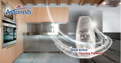Astonish Крем за Керамични плотове и Кухненски уреди 150 ml