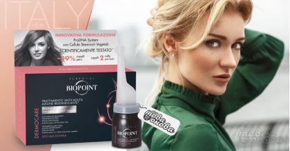 Biopoint Ампули за третиране при загуба на коса 6 х 12 ml