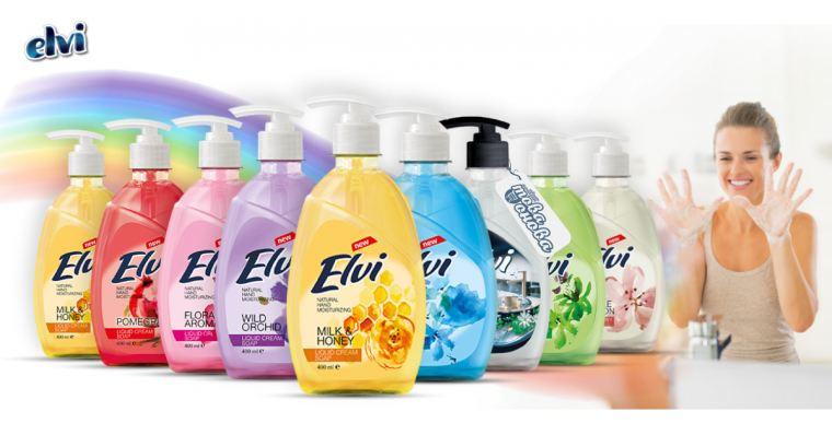 Elvi Течни Крем сапуни Помпа 400 ml