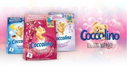 Coccolino Ленени ароматни торбички за гардероб 3 бр