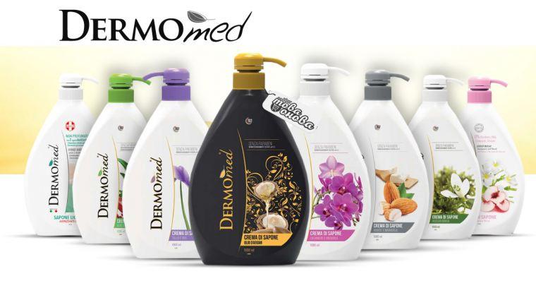 DermoMed Италиански Течни Крем сапуни 1000 ml