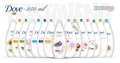 Dove Подхранващи душ гелове 250 ml