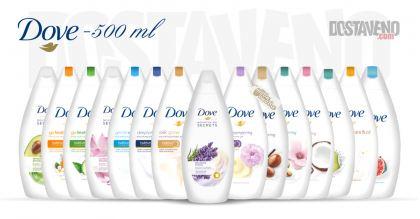 Dove Подхранващи душ гелове 500 ml