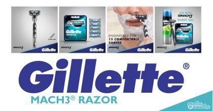 Gillette Mach 3 Самобръсначка и ножчета