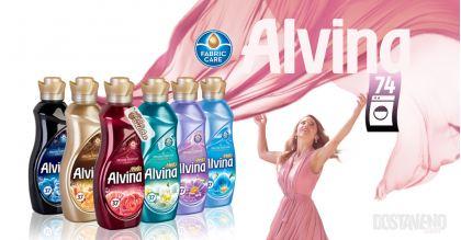 Alvina Deluxe Perfume intense Омекотители 1850 ml