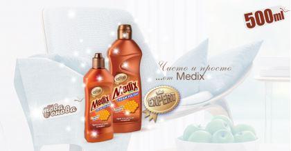 Medix Expert Cream Polish Препарати за Мебели с пчелен восък 500ml