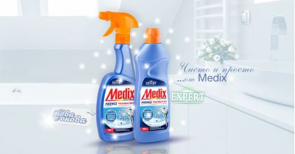 Medix Expert Почистващ препарат за Фаянс 500 ml