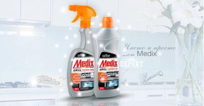Medix Expert Почистващ препарат за Фурни и Грил 500 ml