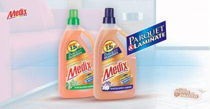 Medix Паркет и Ламинат Почистващи препарати 1500 ml
