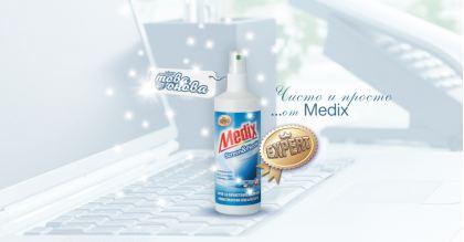 MEDIX Expert Препарат за Дисплеи и Офис техника 200 ml
