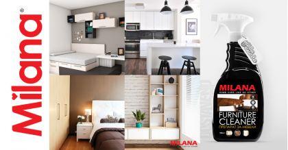 Milana Препарат за почистване на мебели 750 ml