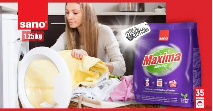 Sano Maxima Advance 35 Прах за пране 1.25 kg