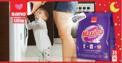 Sano Maxima Sensitive 35 Прах за пране 1.25 kg