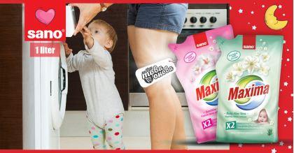 Sano Maxima Sensitive & Baby Омекотители за тъкани 1000 ml