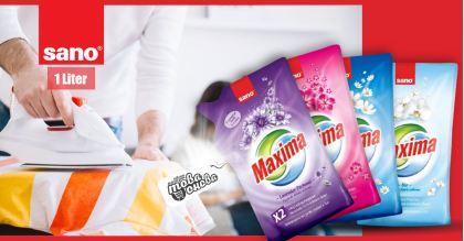 Sano Maxima Advance Омекотители за тъкани 1000 ml
