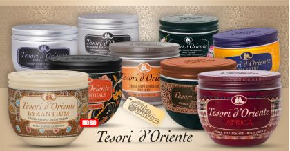 Tesori d'Oriente Ароматни Кремове за Тяло 300 ml
