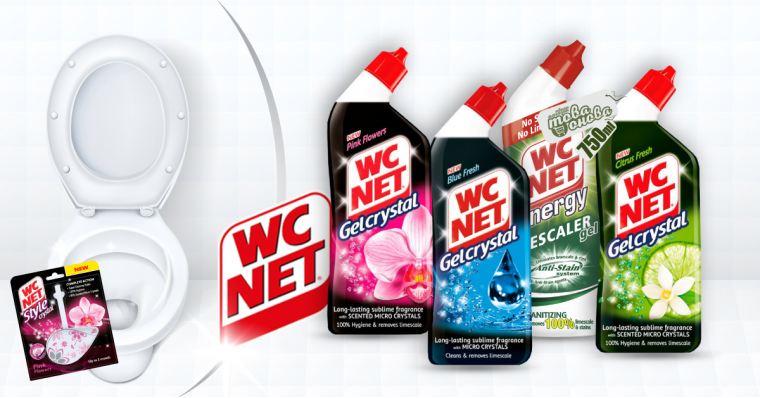 WC Net Почистващи Препарати за санитарни помещения 750 ml