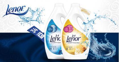 Lenor 2in1 Течени перилени препарати 1870 ml