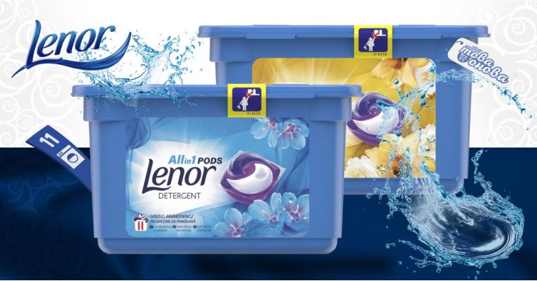 Lenor All in 1 PODS Капсули за пералня 11 бр