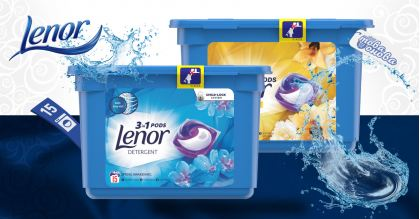 Lenor All in 1 PODS Капсули за пералня 14 бр