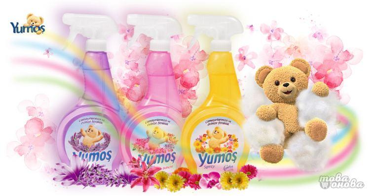 Yumos спрей за всички тъкани 500 ml